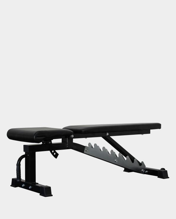 Fid adjustable bench flat incline decline gym garage