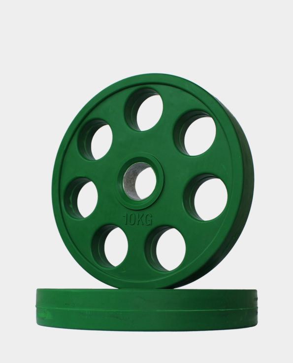 10kg Green Revolver Olympic Weight Plate