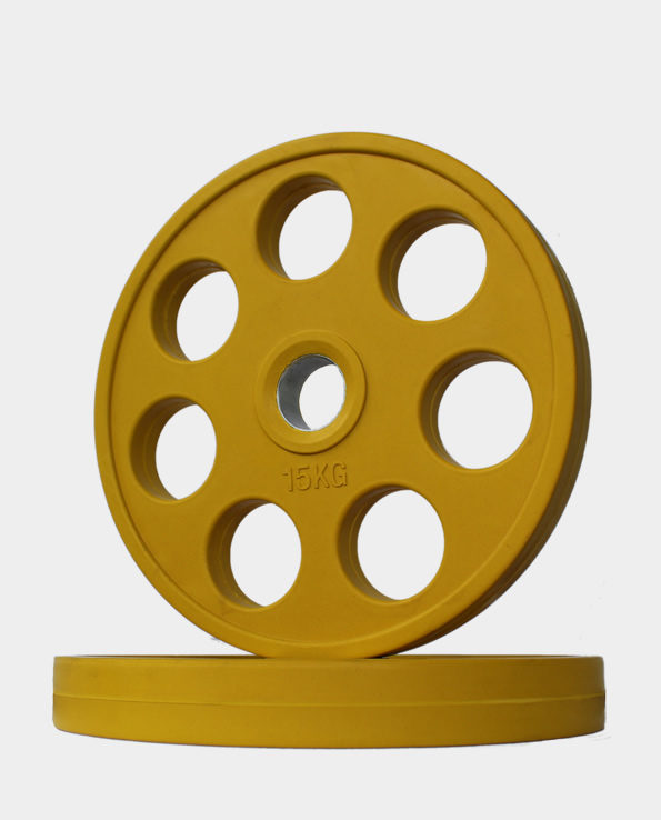 15kg Yellow Revolver Olympic Weight Plate