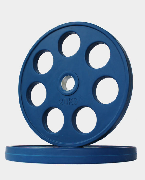 20kg Blue Revolver Olympic Rubber Coated Weight Plate