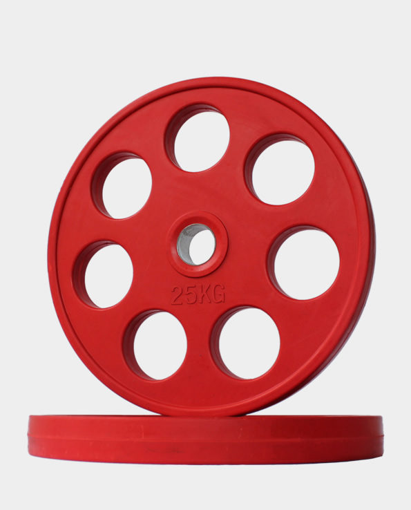 25kg Red Revolver Olympic Weight Plate