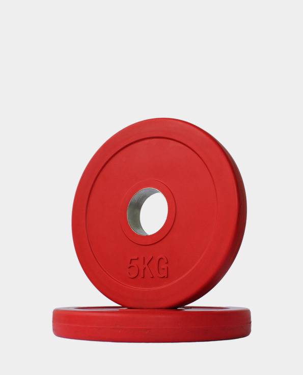 5kg Red Olympic Weight Plate