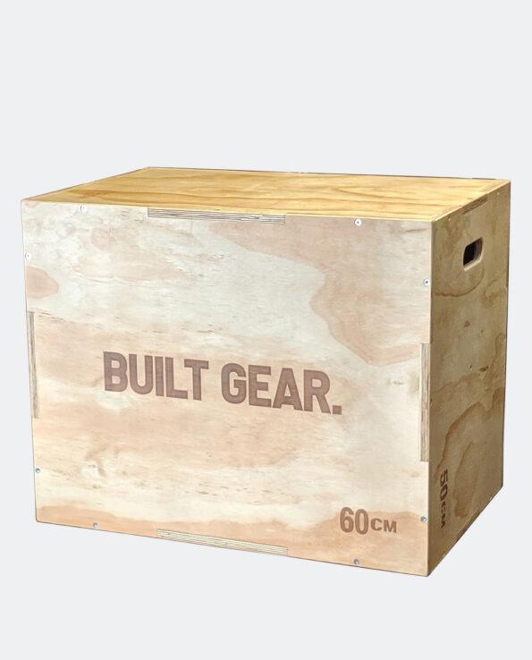 Built Gear 3 in 1 Wooden Plyo Box